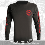 Long Sleeve T-shirt Franky Mouse Ride Motor Cycle