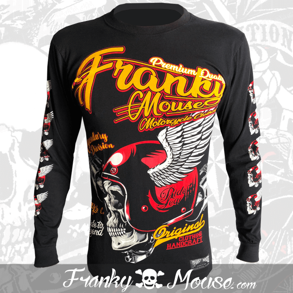 Long Sleeve T-shirt Franky Mouse Original Handcraft