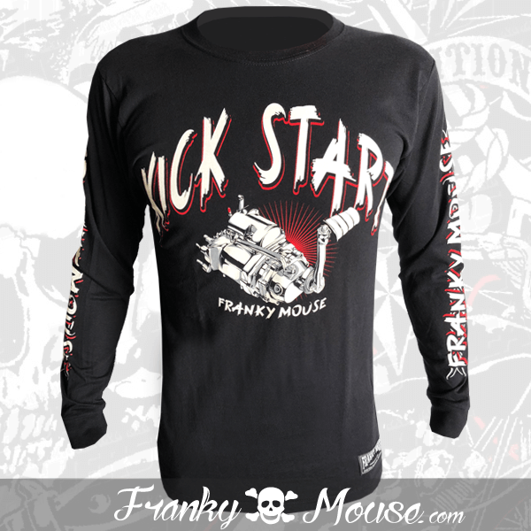 Long Sleeve T-shirt Franky Mouse It Can Kill You