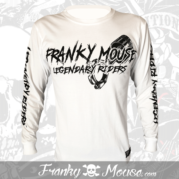 Long Sleeve T-shirt Franky Mouse Legendary Rider