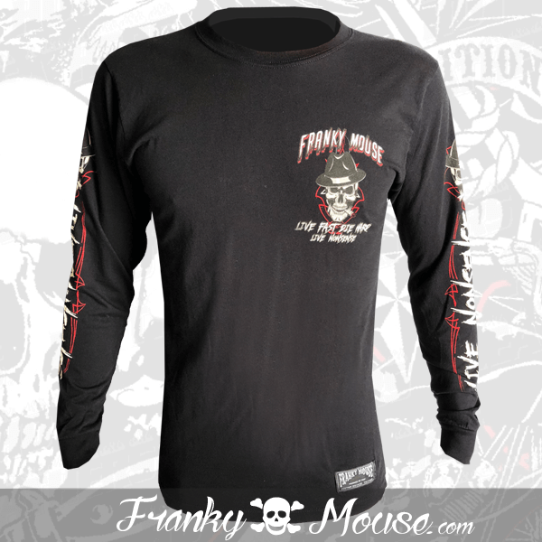 Long Sleeve T-shirt Franky Mouse Always on Wheels