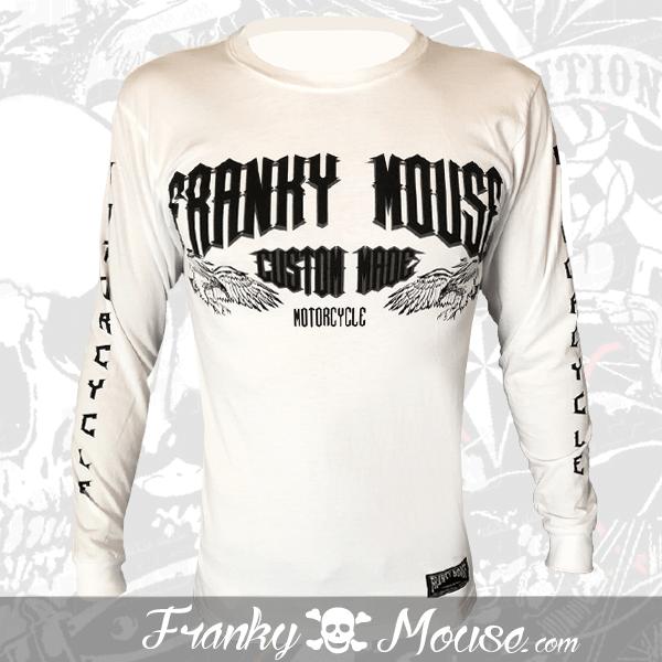 Long Sleeve T-shirt Franky Mouse Vintage Garage