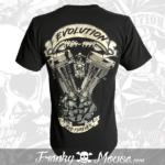 tshirt-franky-mouse-noir-evolution-forever-biker-back