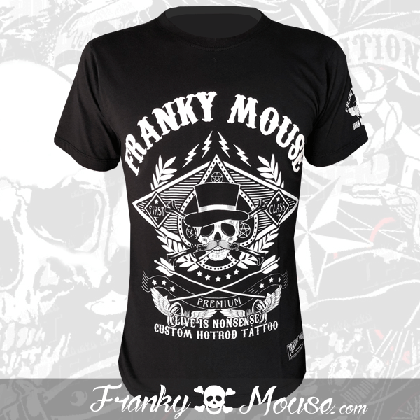 T-Shirt Franky Mouse Premium Hotrod Tattoo