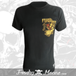 T-Shirt Franky Mouse Demon Smoking Biker