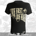 T-Shirt Franky Mouse Live Fast Die Hard