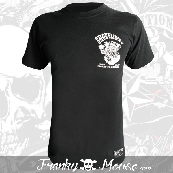 T-Shirt Franky Mouse Shovelhead The Legend