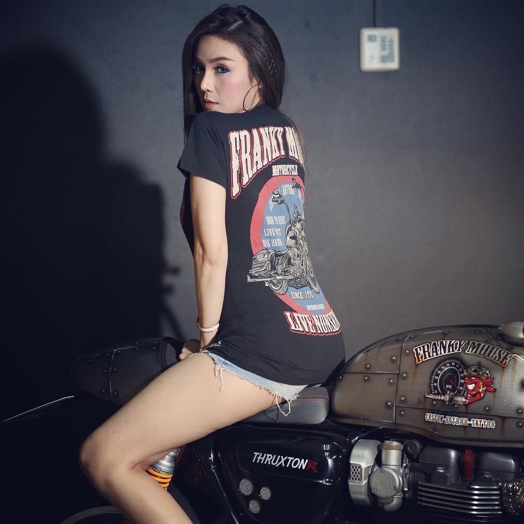 Biker T-Shirt for Women